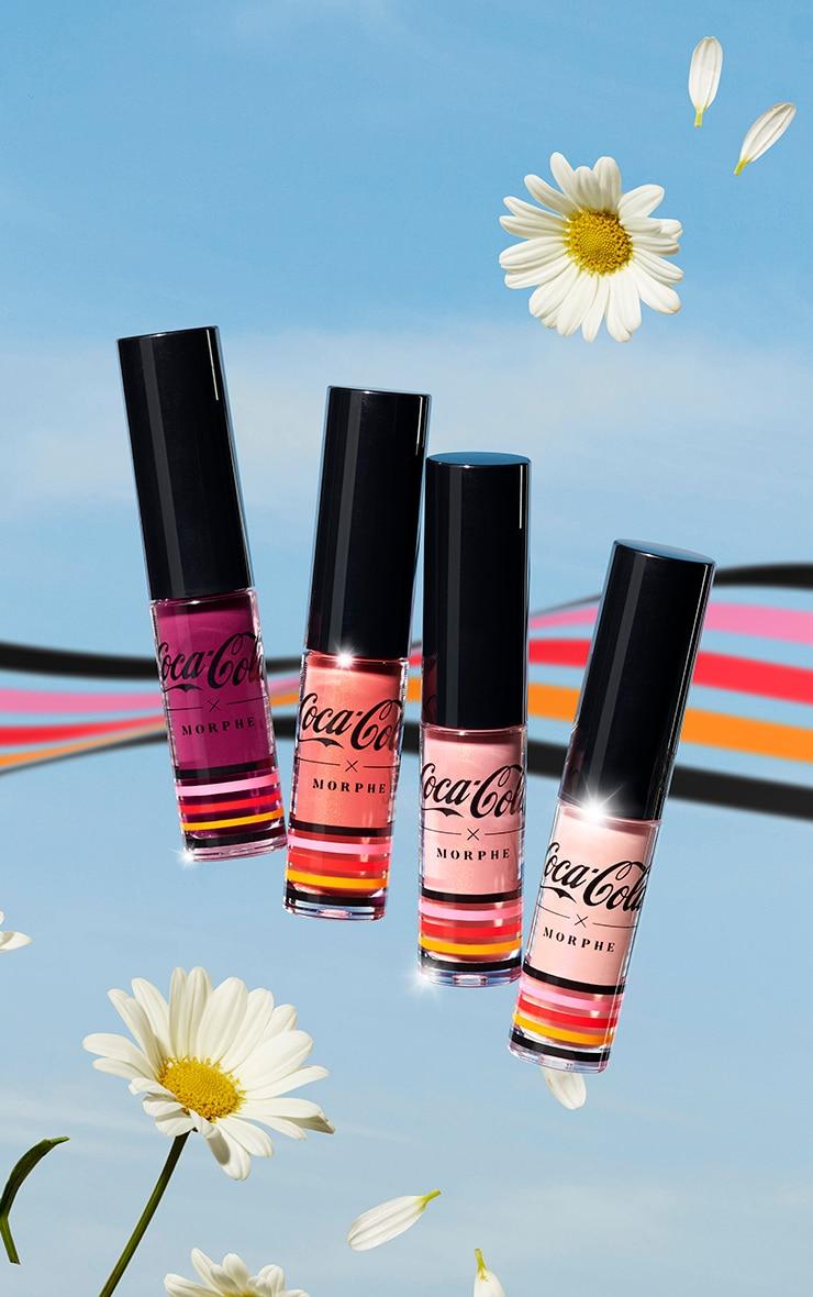 Coca Cola x Morphe - Lot de 4 mini-gloss brillants Lip in Harmony 1