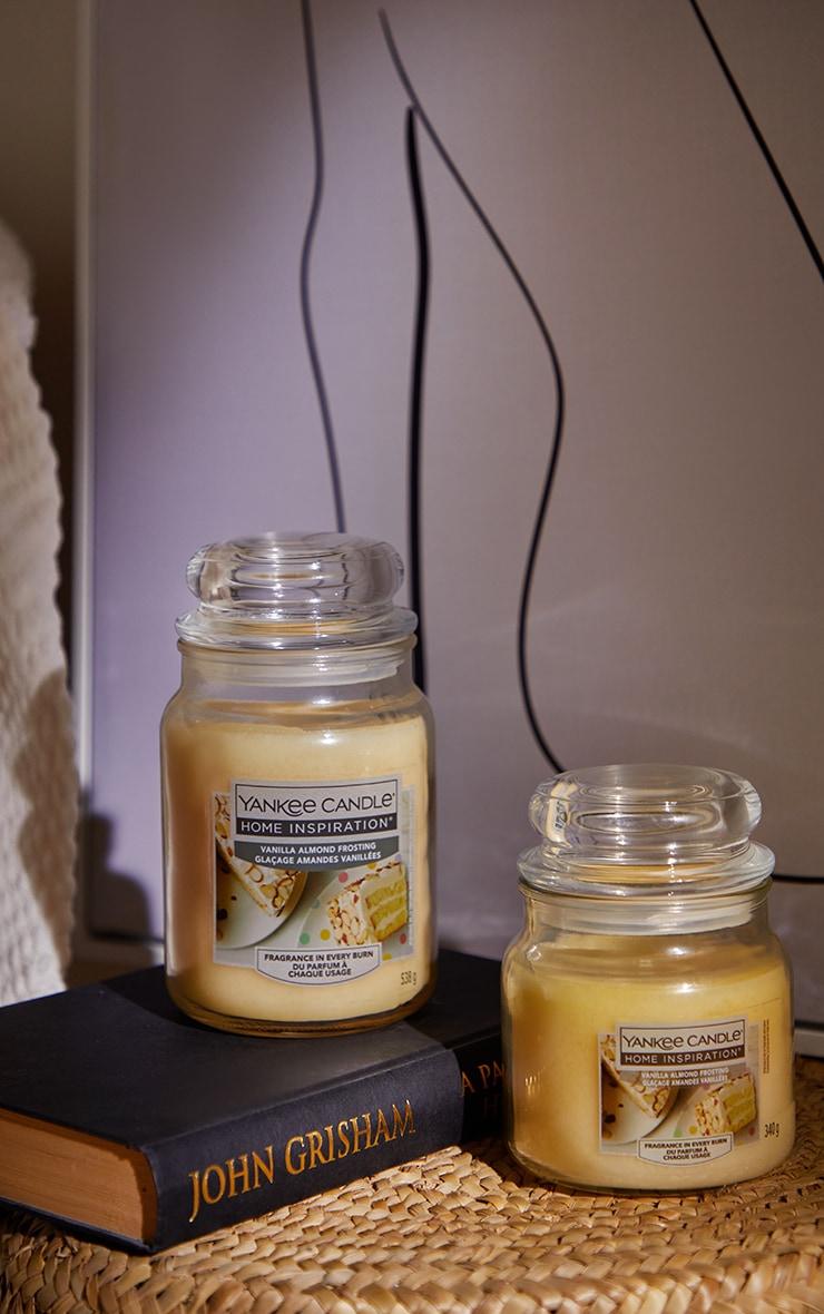 Yankee Candle Home Inspiration Medium Jar Vanilla Almond Frosting 2
