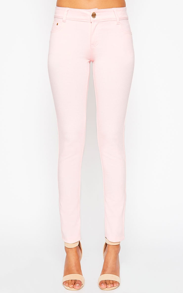 Baby Pink Jeggings 3