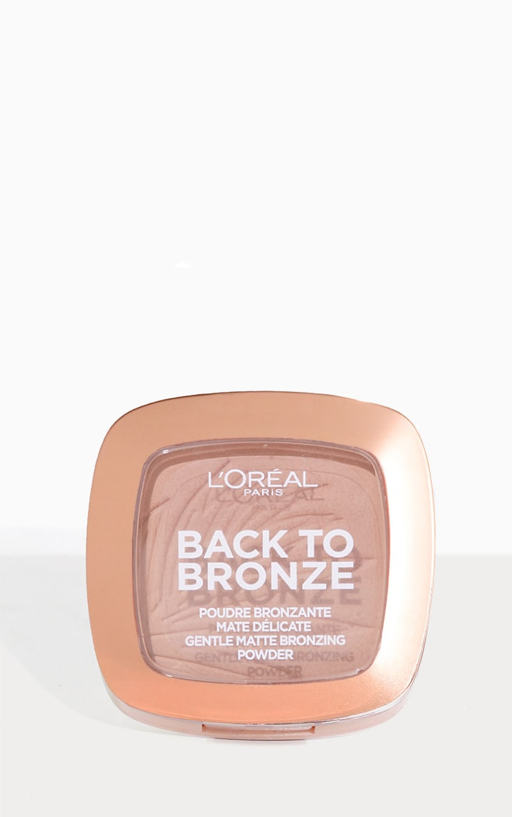 L'Oréal Paris Back To Bronze Matte Bronzing Powder 1