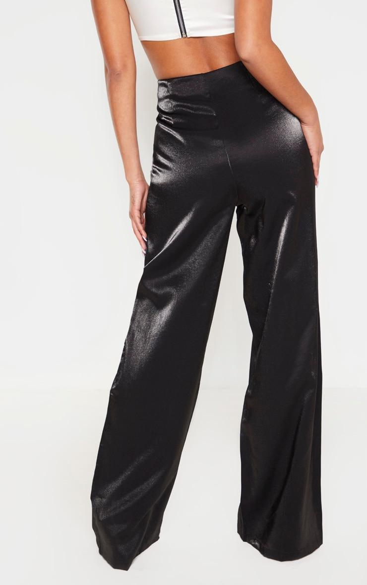 Black High Waist Corset Pants 2