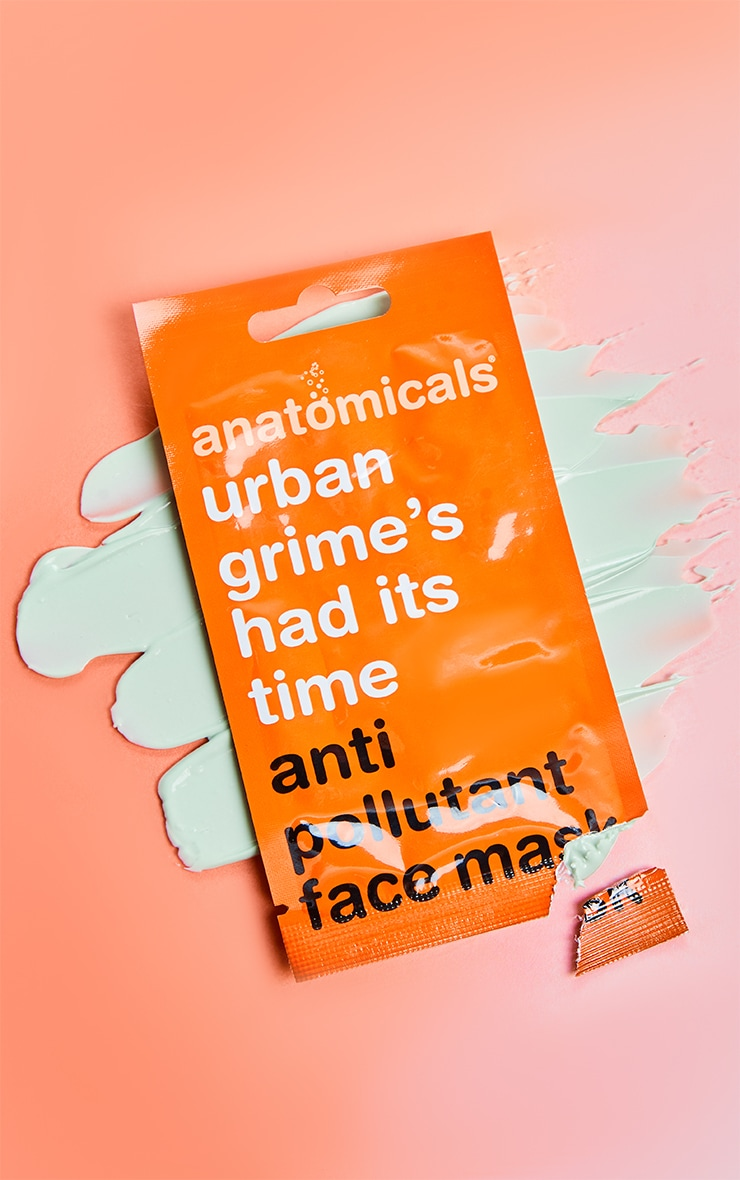 Anatomicals Urban Grime It's Had It's Time Face Mask 1