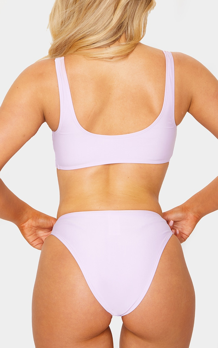 Lilac Mix & Match Cheeky Bum Bikini Bottoms 4
