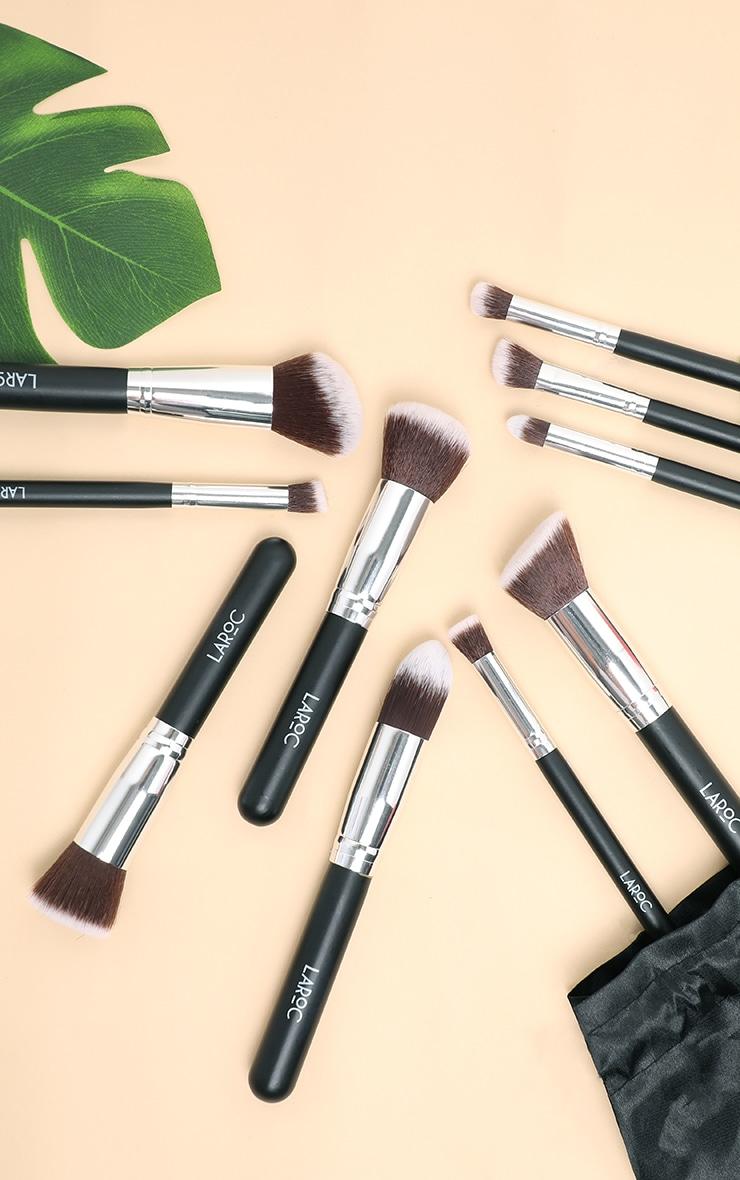 10 Piece Kabuki Makeup Brush Set
