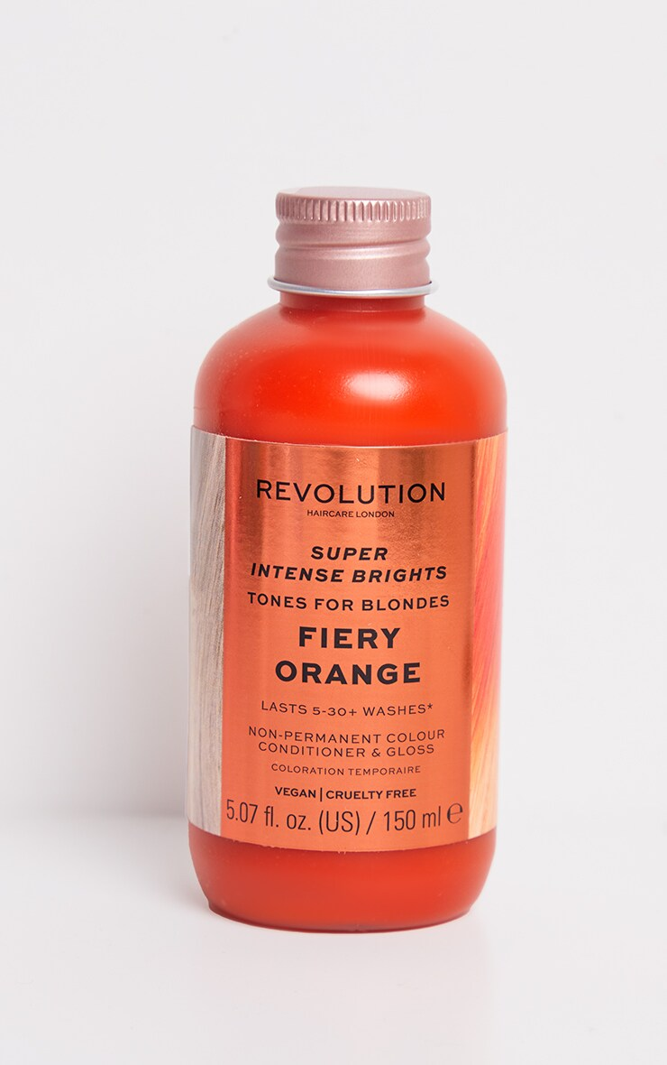 Revolution Haircare Tones for Blondes Fiery Orange 3