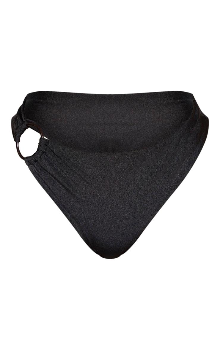 Shape Black Ring Detail Bikini Bottom 5