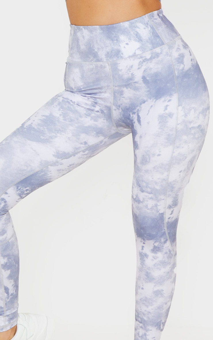 Blue Acid High Rise Gym Legging 5