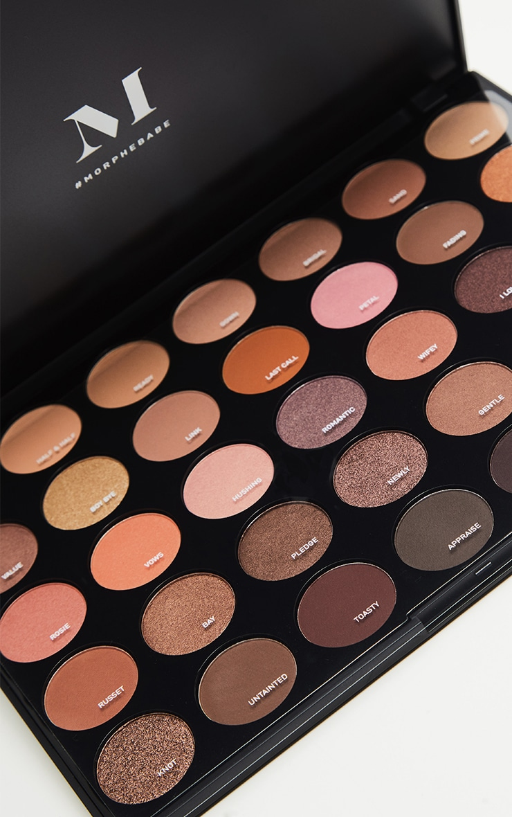 Morphe 35W Warm It Up Eyeshadow Palette 2