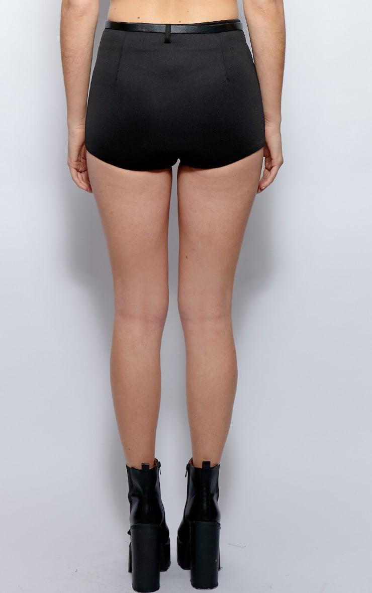 Cailin Black Hot Pants Shorts 2