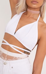 73233238d0bca Shauna White Harness Bralet image 5