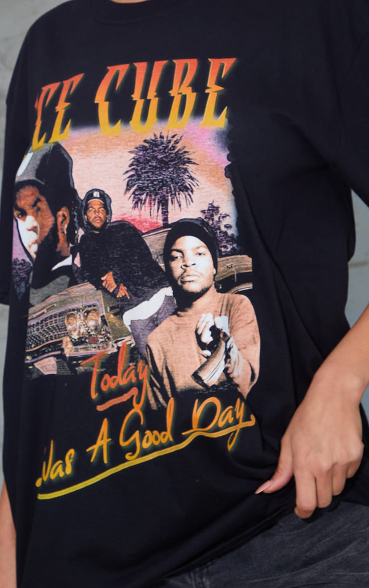 Black Ice Cube Today Was A Good Day Homage T Shirt 4