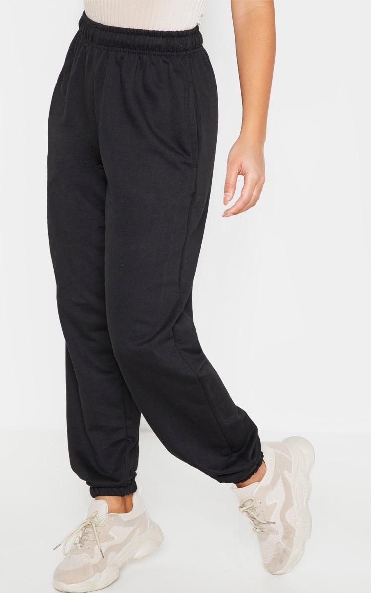 Petite Black Casual Trouser  2