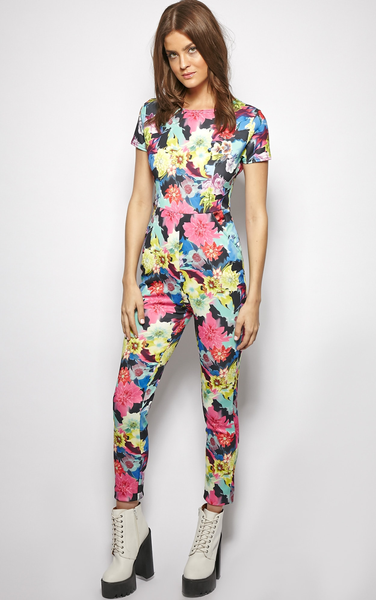 Angelica Exotic Floral Jumpsuit  1