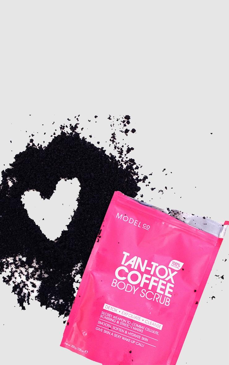 ModelCo Tan-Tox Coffee Body Scrub 1