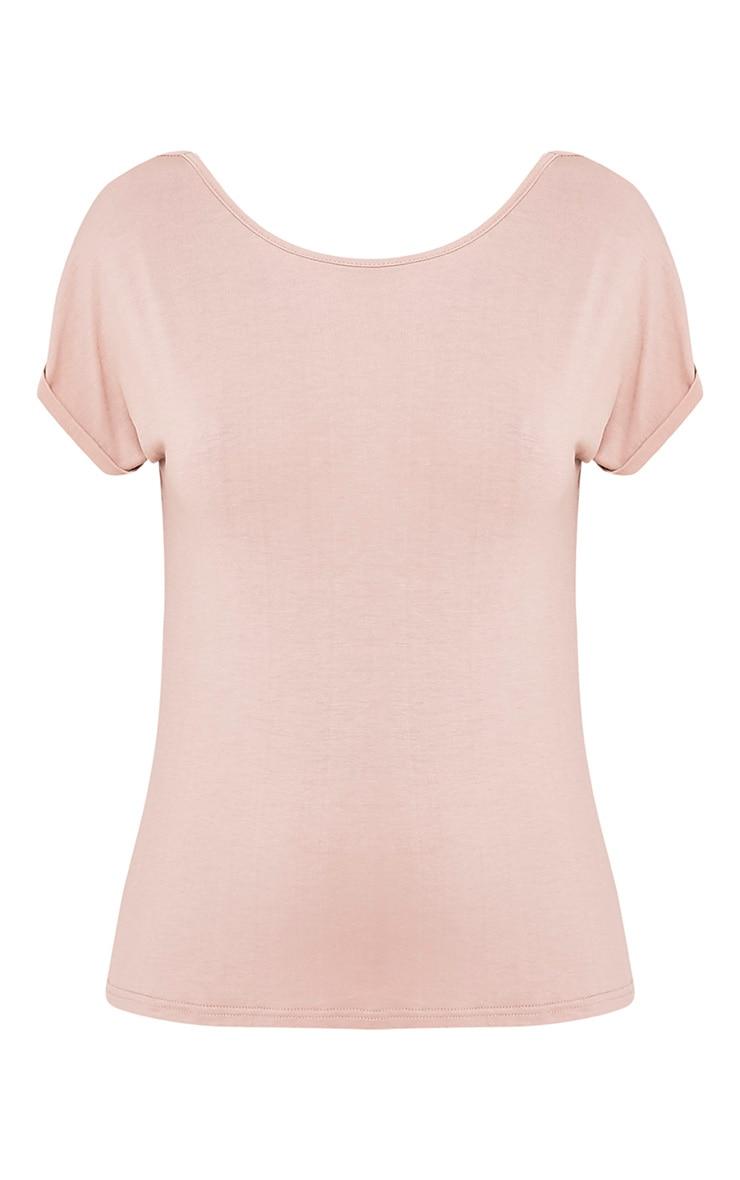 Bea Stone Multi Way Cowl Neck T Shirt 4