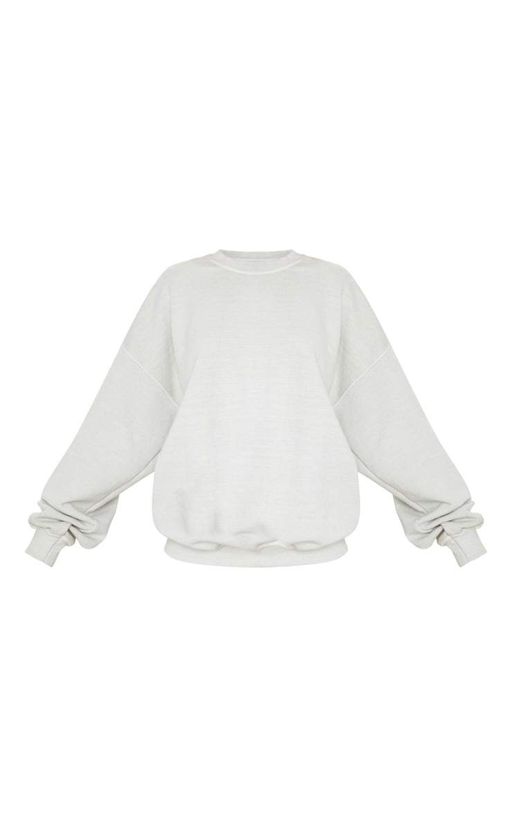 Sage Green Ultimate Oversized Sweatshirt 5