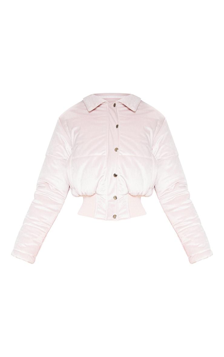 Velvet Pink Puffer  3