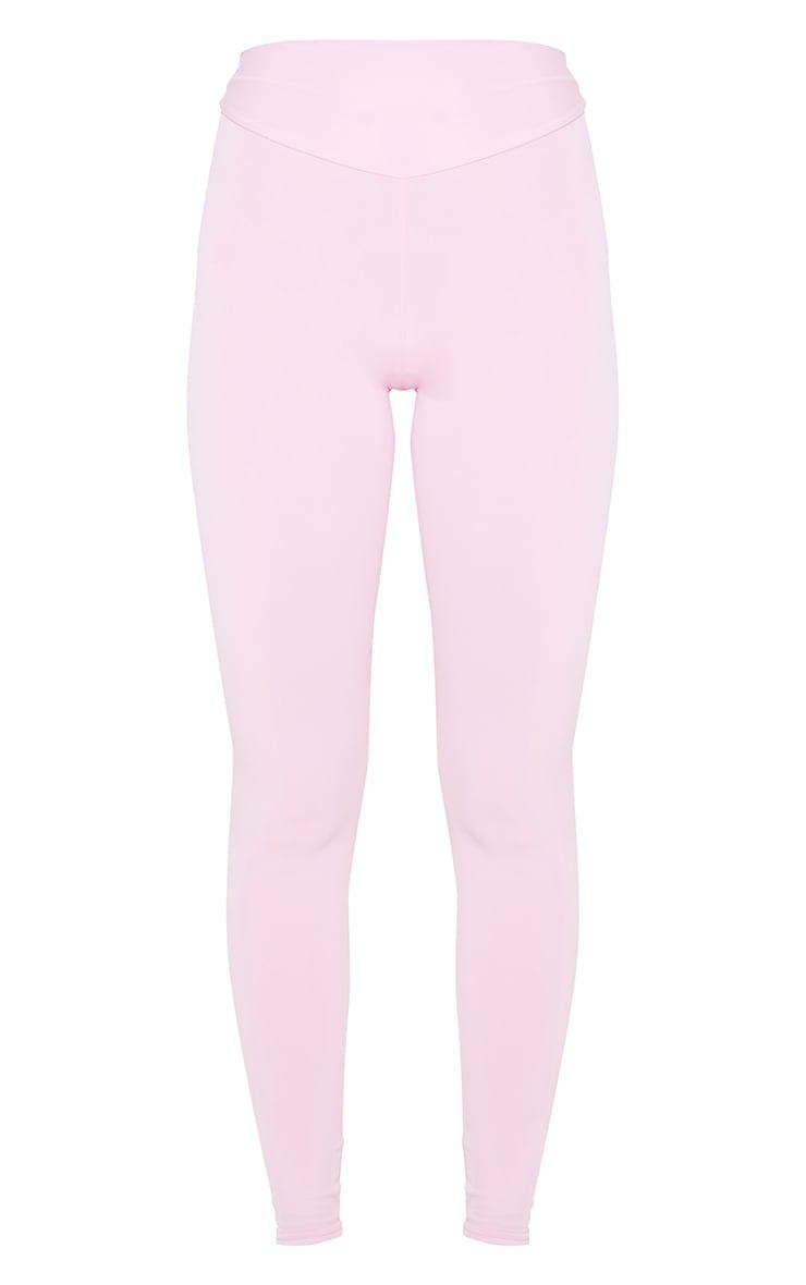 Pink High Waist Gym Legging 5