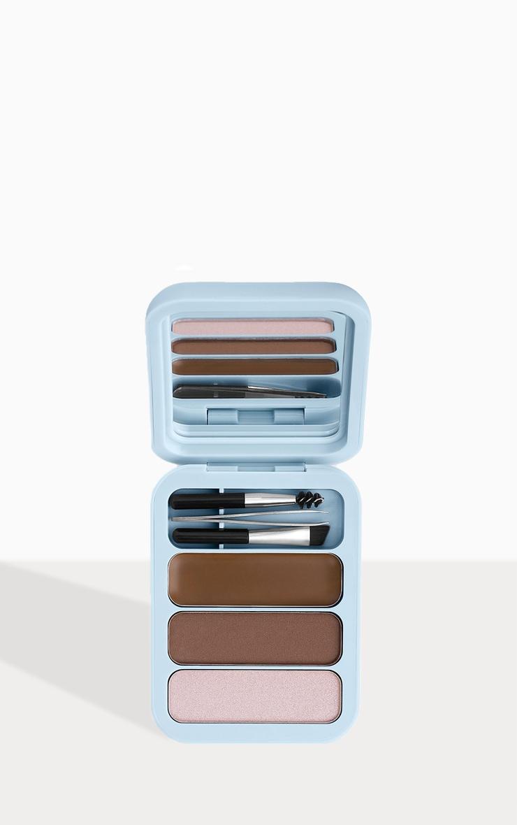Makeup Obsession Brow Goals Brow Kit Light to Medium Brown 1
