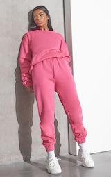 RENEW PRETTYLITTLETHING Pink Oversized Pocket Front Sweatshirt 3