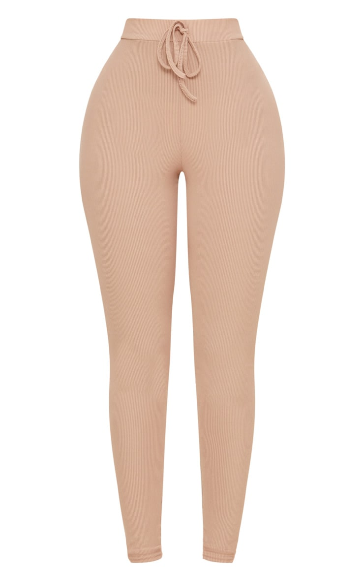 Shape Nude Ribbed High Waist Leggings 3