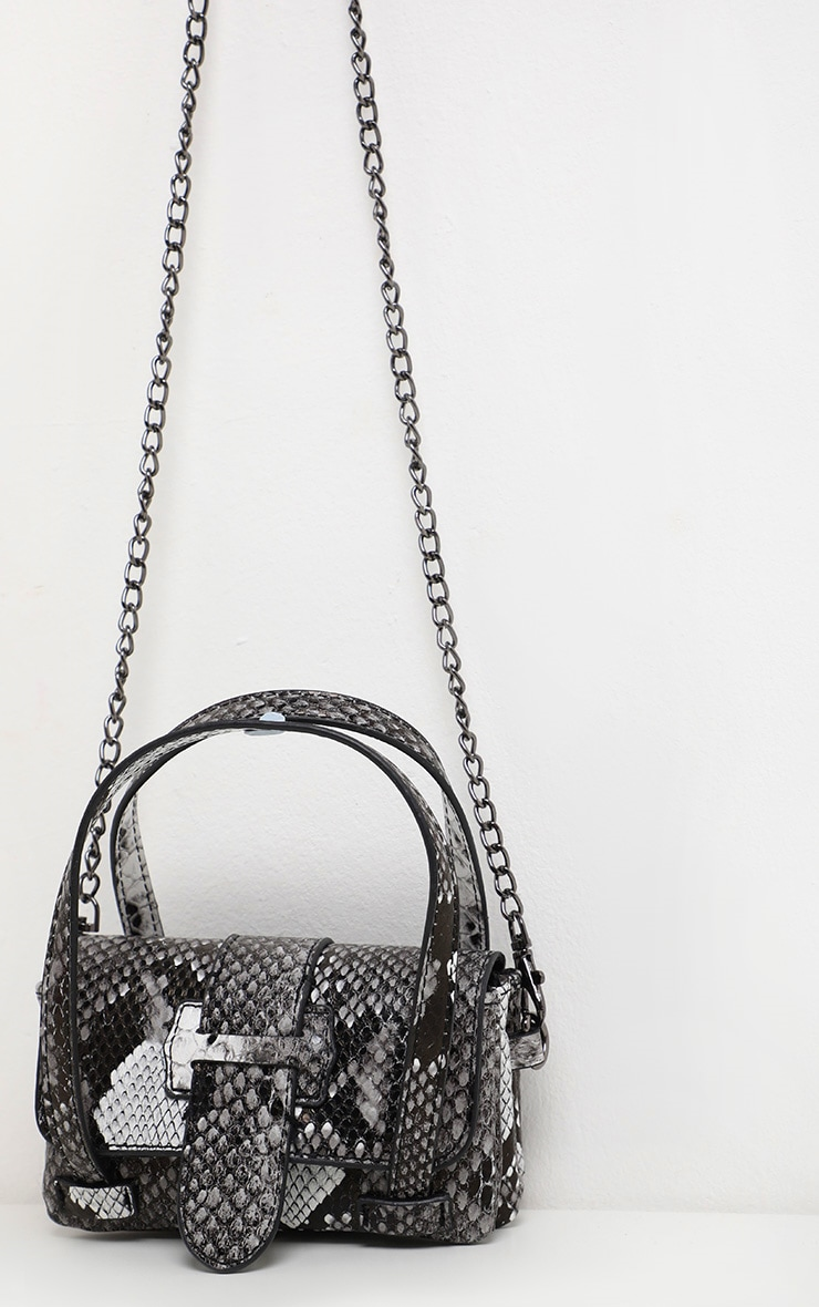 Grey Snake Extra Mini Bag 3