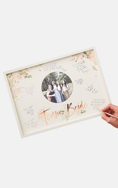 Ginger Ray Frame Guest Book