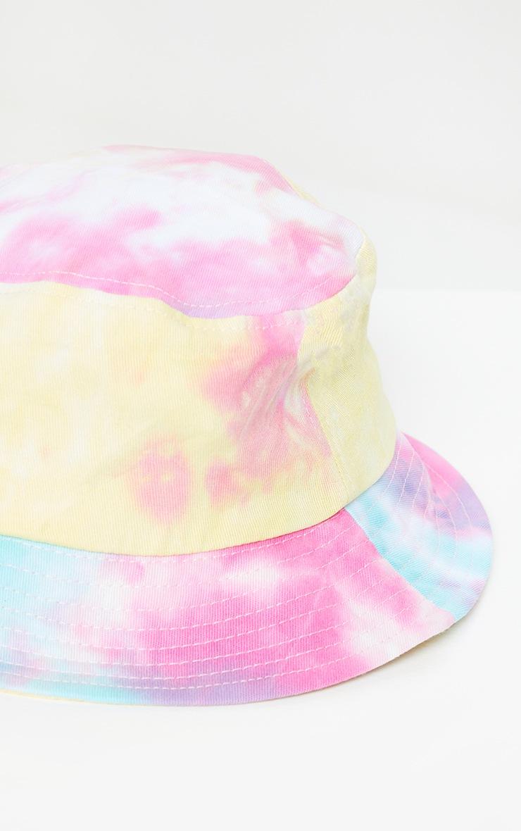Bright Multi Tie Dye Bucket Hat 3