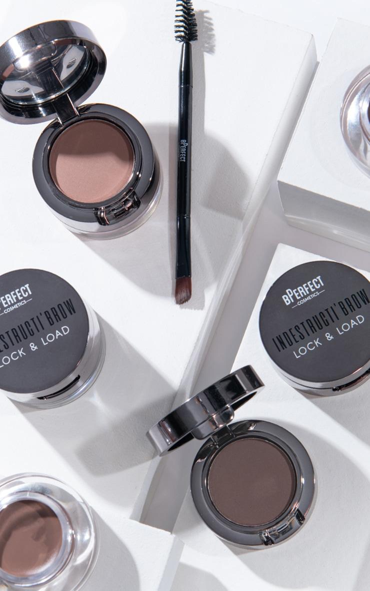 BPerfect Cosmetics Indestructi'brow Lock & Load Eyebrow Pomade Duo Irid Brown 5