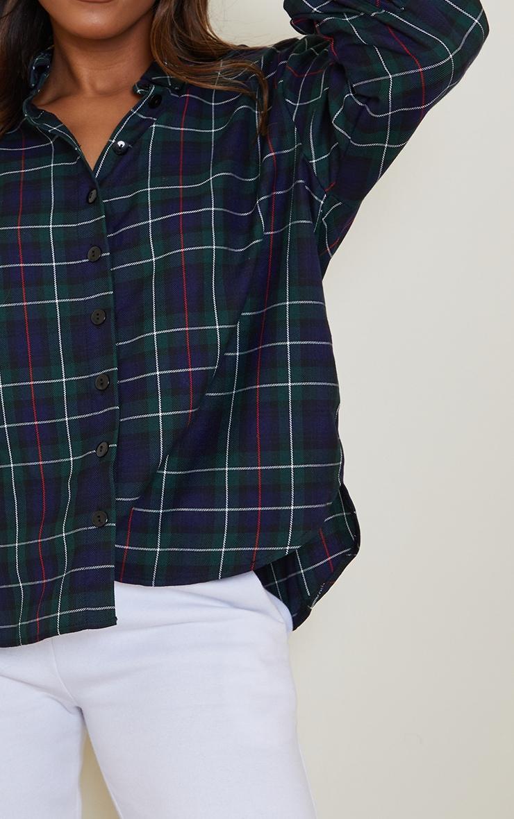 Green Checked Shirt 4