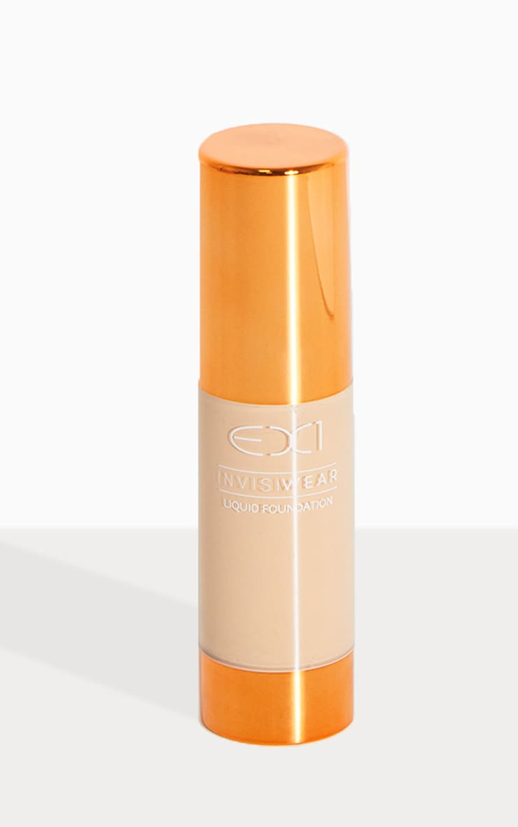 EX1 Cosmetics Invisiwear Liquid Foundation 3.0 1