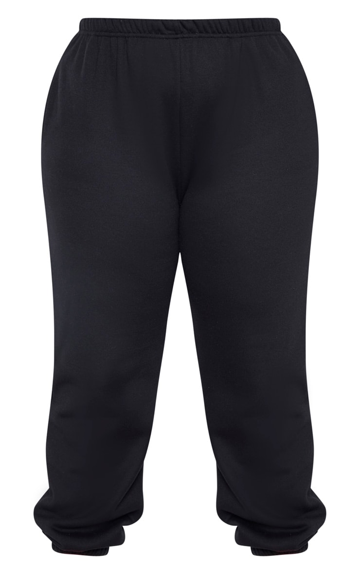 Plus Black Casual Jogger 3