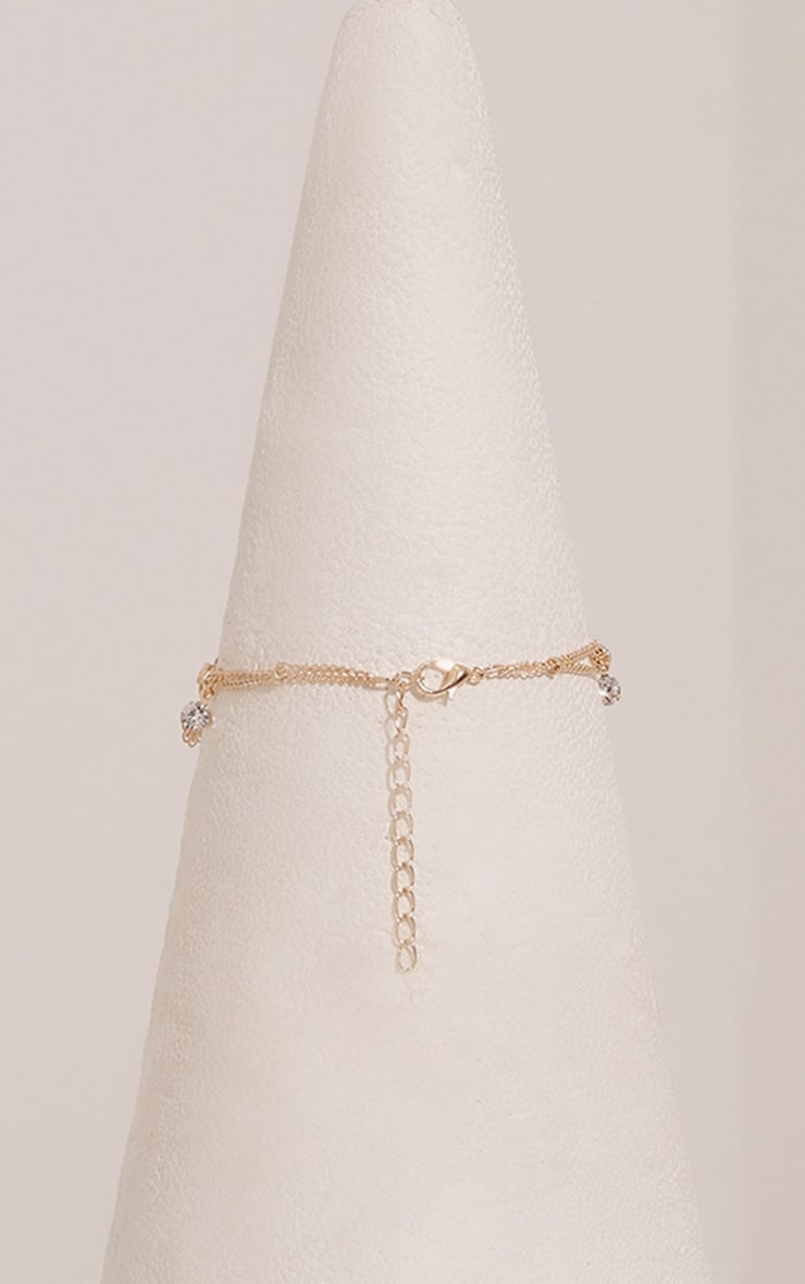 Shaynie Gold Charm Anklet 4