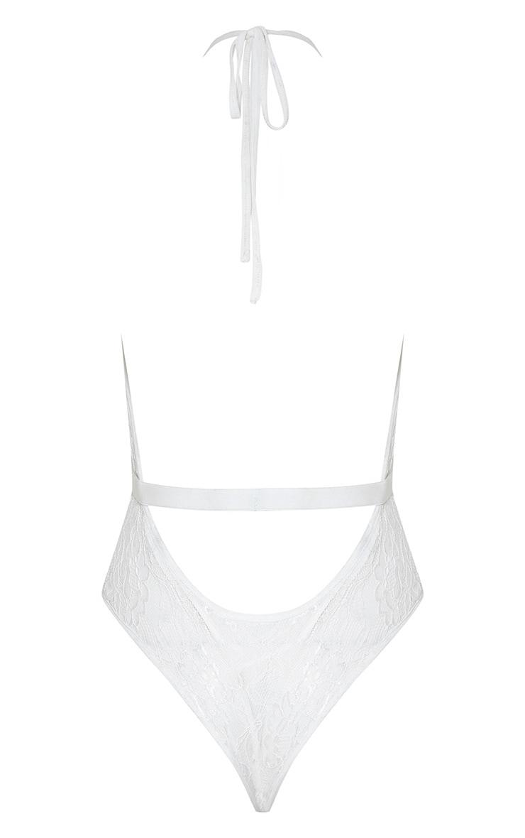 Alexandria body-string dos nu en dentelle blanc 3