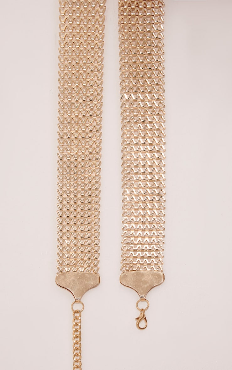 Charly Gold Chain Belt 4