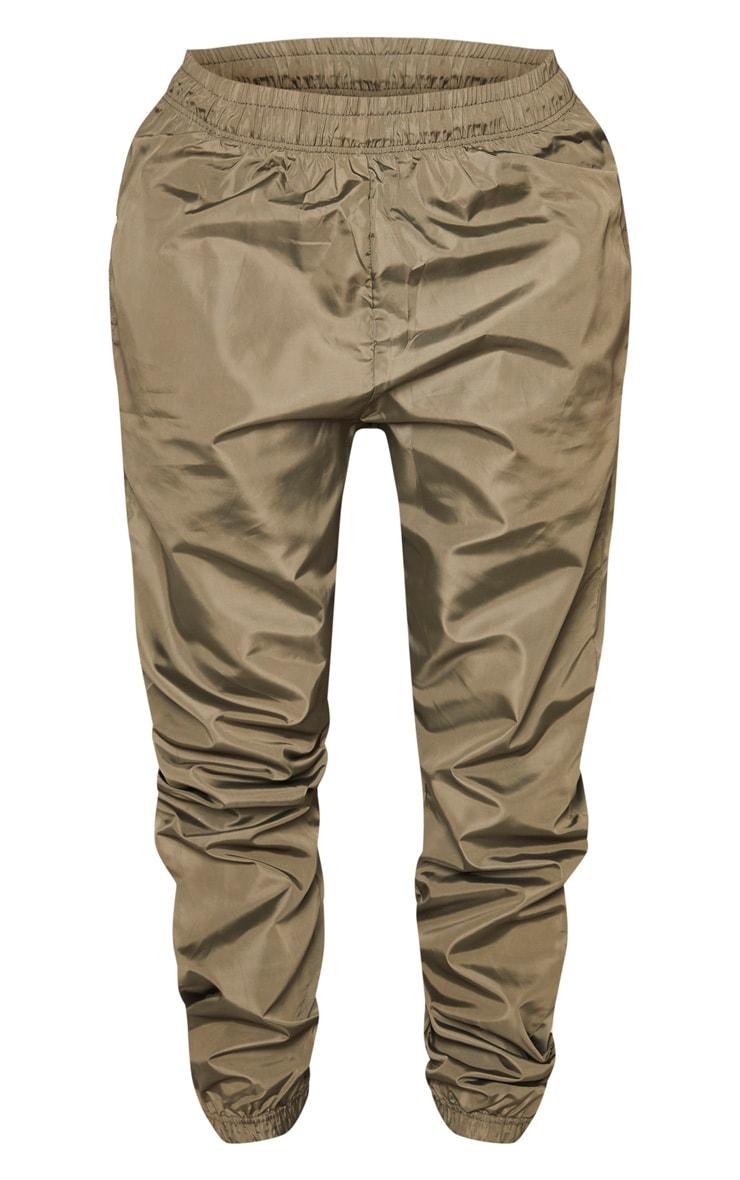 Shape Khaki High Waist Shell Track Pants 3