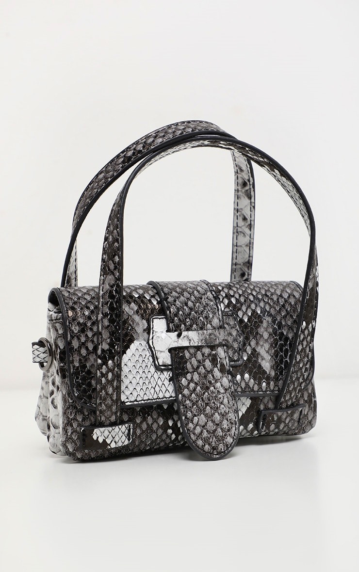 Grey Snake Extra Mini Bag 2