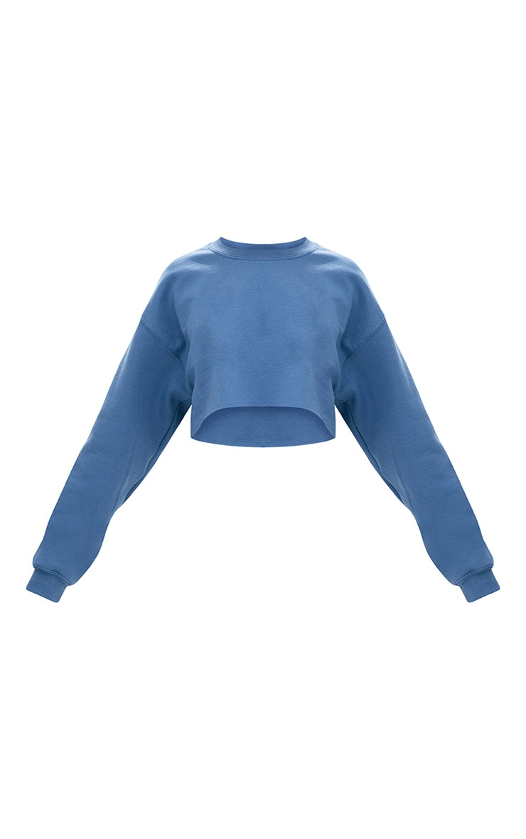 Indigo Ultimate Cropped Sweater 3