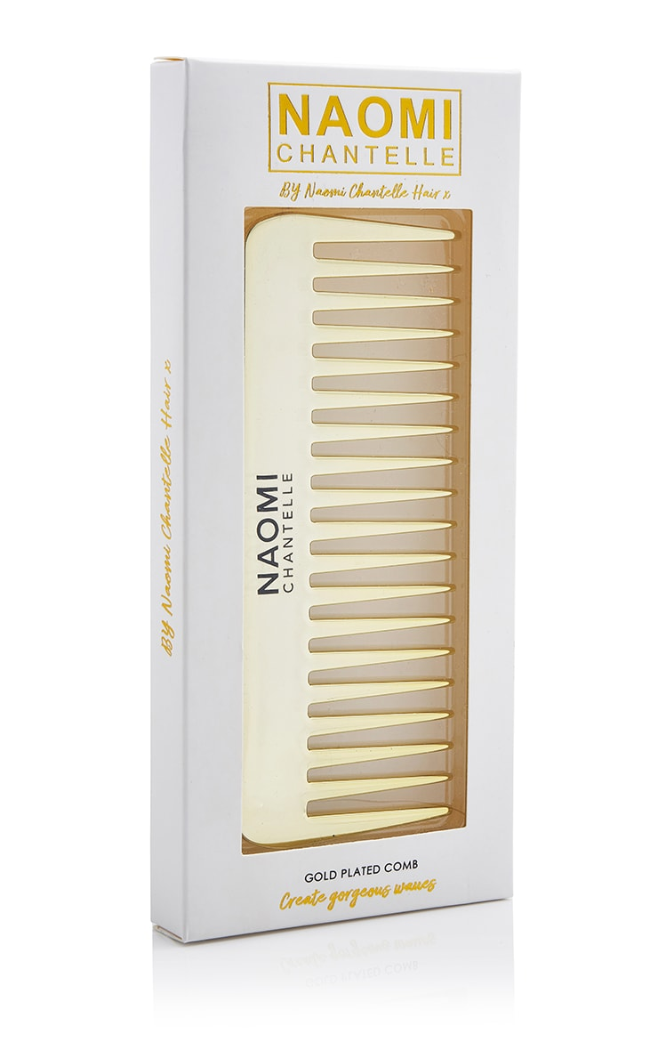 Naomi Chantelle Gold Plated Comb 4