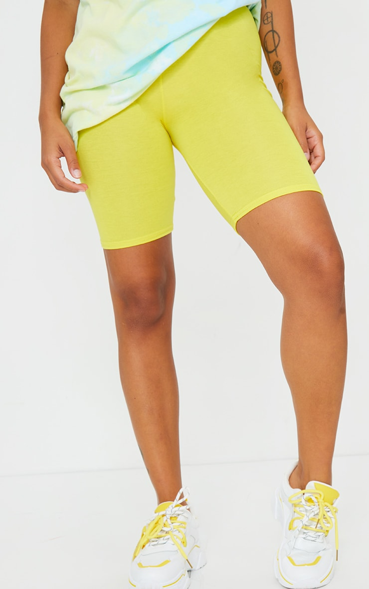 Petite Yellow Bike Short 2