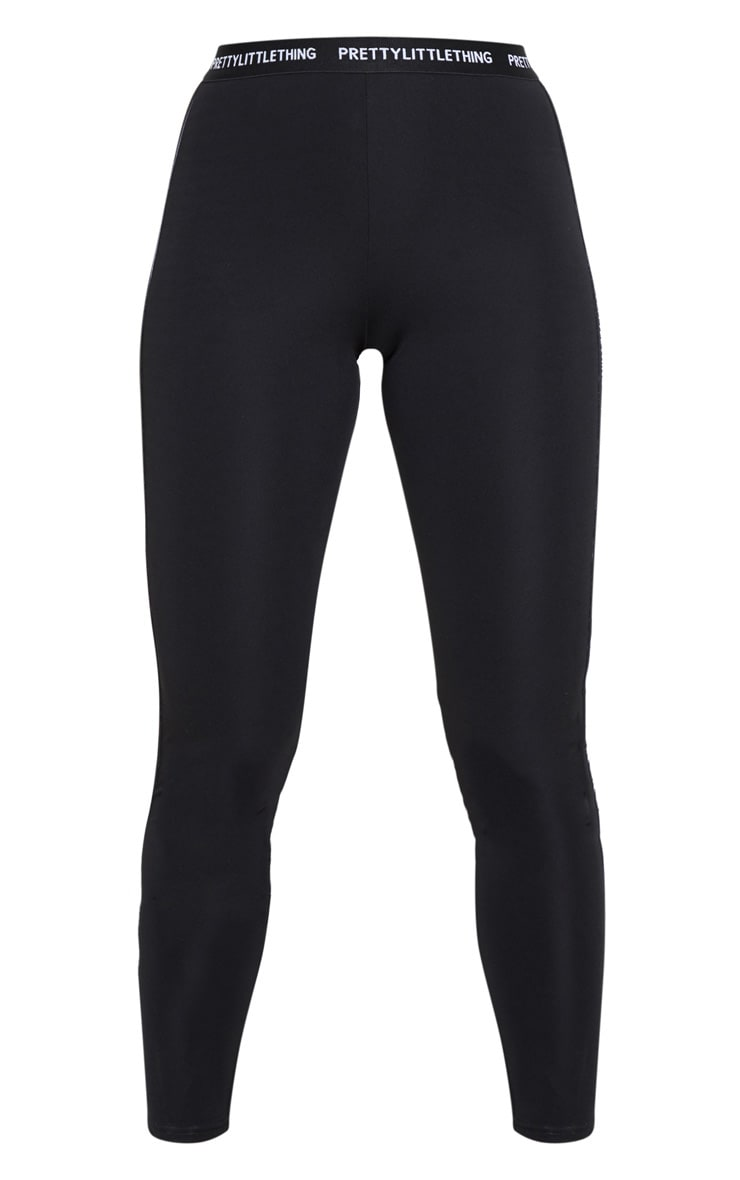 PRETTYLITTLETHING Black Gym Leggings 4