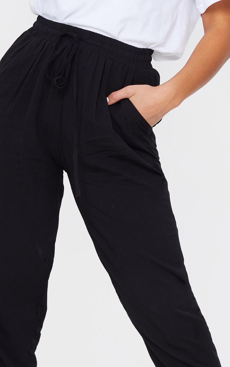 Petite Black Casual Pants  4