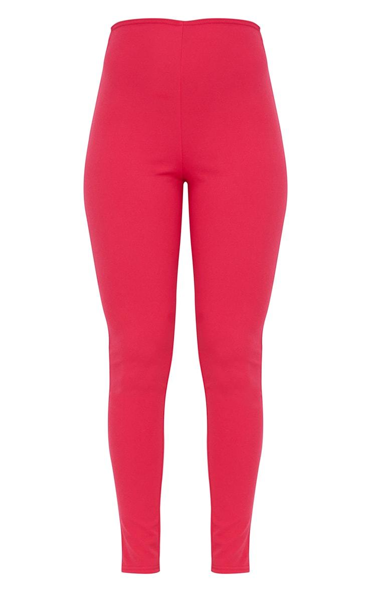 Hot Pink T Bar Skinny Pants 5