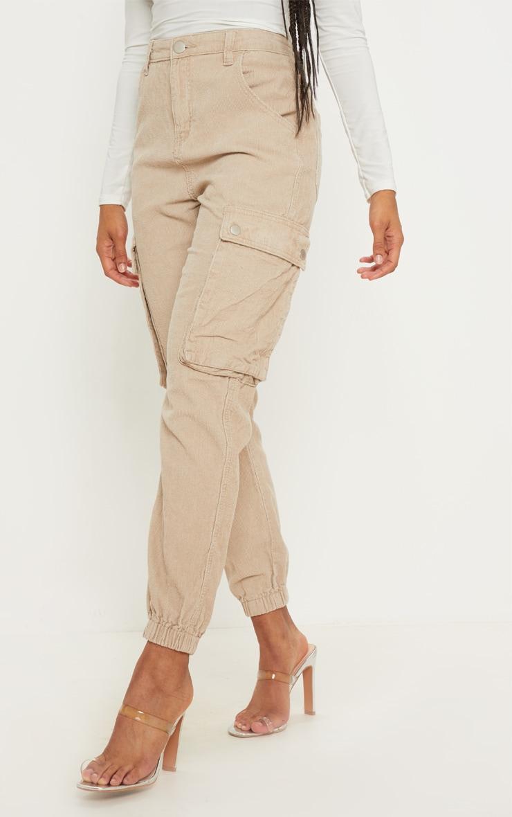 Stone Cord Cargo Pants 2