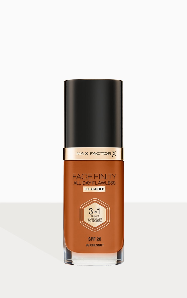 Max Factor Facefinity All Day Flawless Foundation Chestnut 1