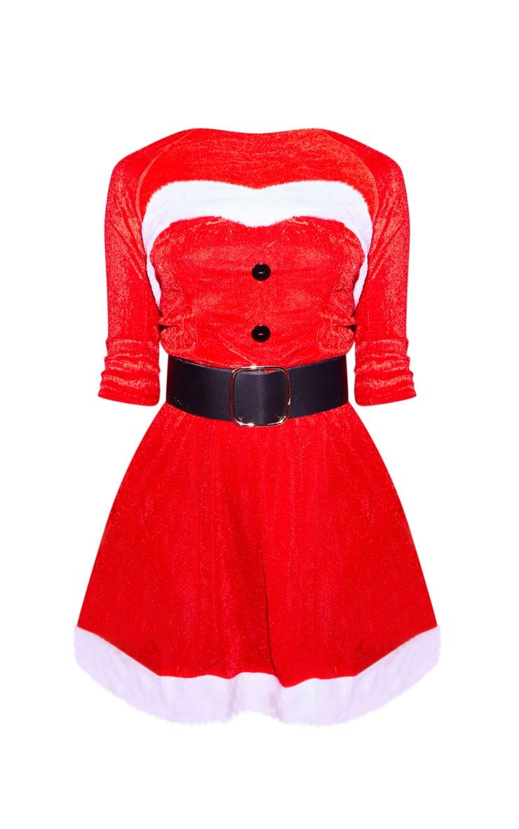 Red Sexy Premium Mrs Santa 3