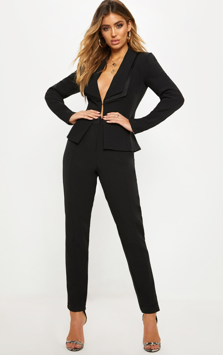 Avani Black Suit Trousers 1