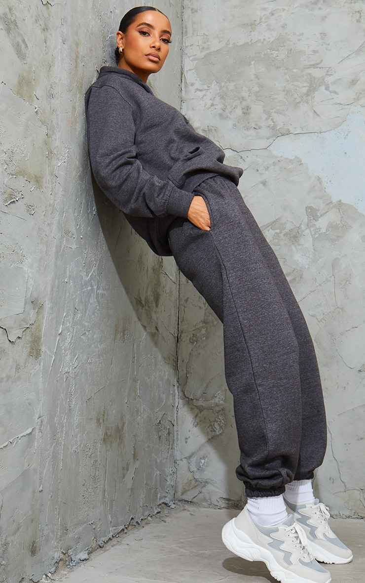Charcoal Marl Sweat Pant Joggers 1