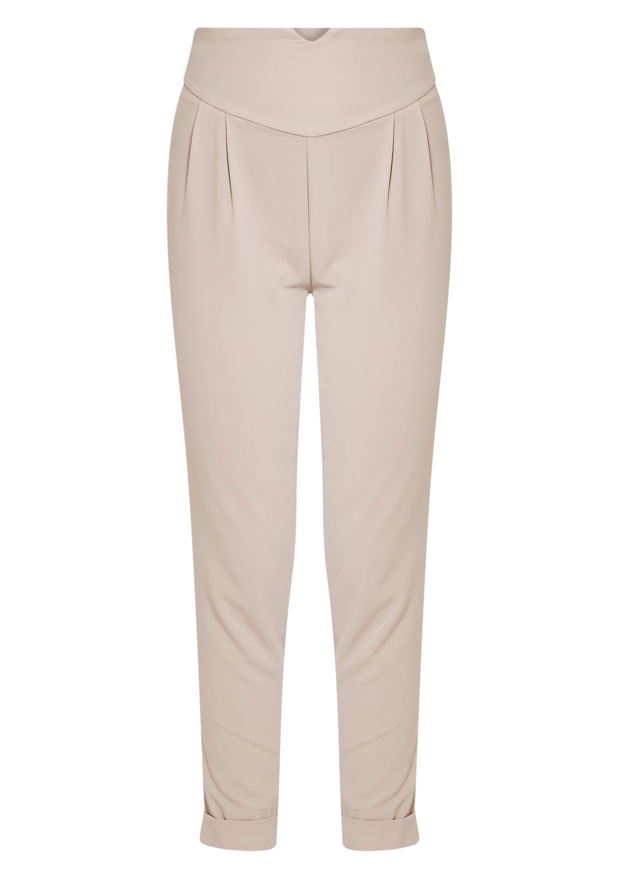 Elenor Stone High Waisted Tapered Trousers 3
