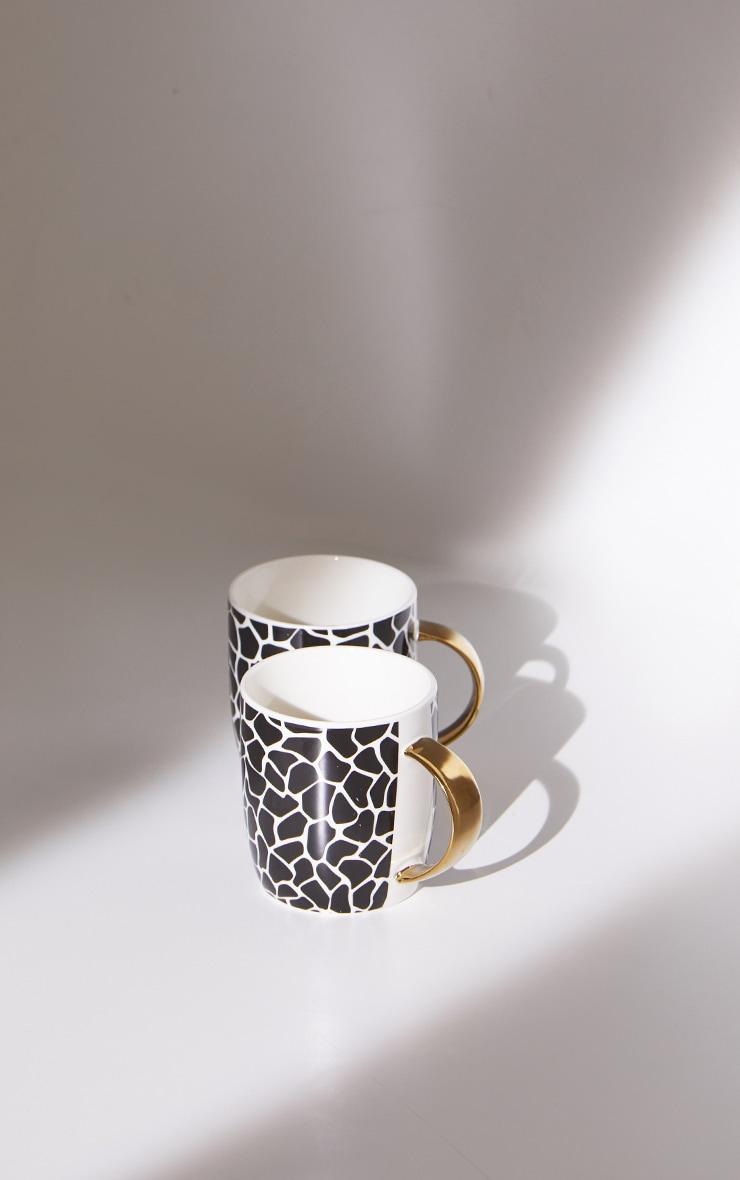 Zebra Print 2 Pack Mugs 5